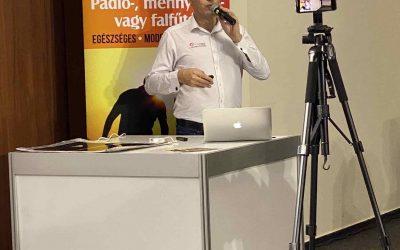 Fűtőfólia bemutató a Mapei szakember találkozón
