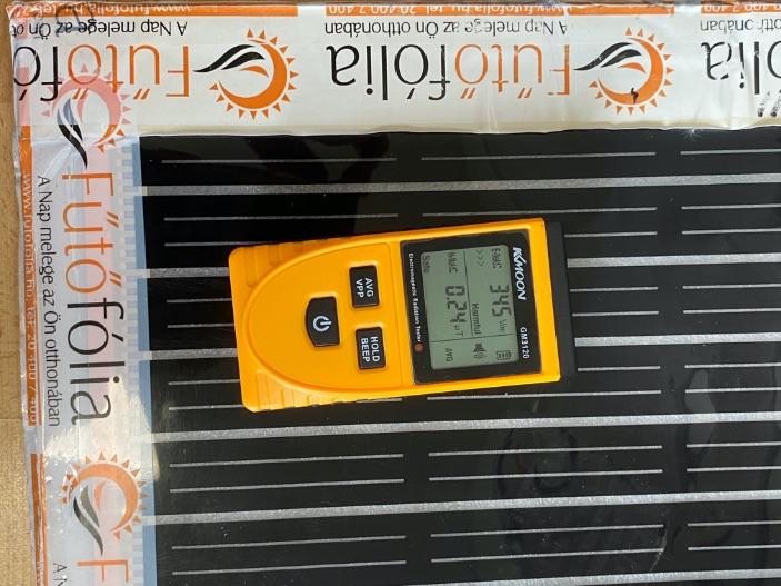 Mekkora elektroszmog van az elektromos padlófűtés esetén?